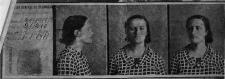 Ficha policial Lina Odena
