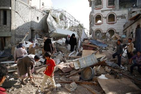 Ataque aéreo de Arabia Saudí - 8 de septiembre de 2015.