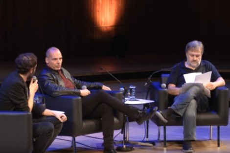 conversacionentreslavojzizek y varoufakis