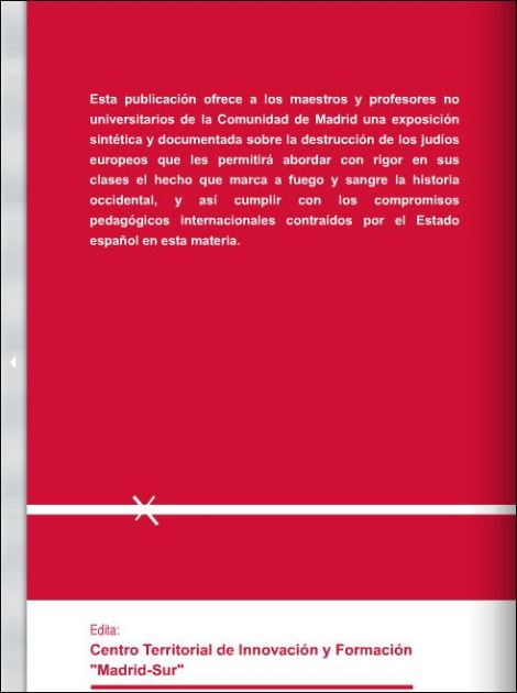 Guia Didactica de la Shoa, promovida por la Consejeria de EducaciónMadrid