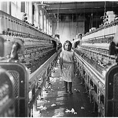 Trabajo Infantil, SIGLO XX, Fábrica EE. UU.