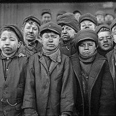 Trabajo Infantil, SIGLO XX, Minería