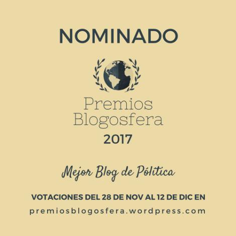 Mejor Blog de Política
